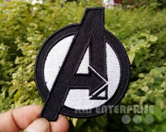 Avengers Assemble Uniform Logo A High Quality | Iron on Patch | Sew on Embroidered Patch | Iron badges for Clothes | #05