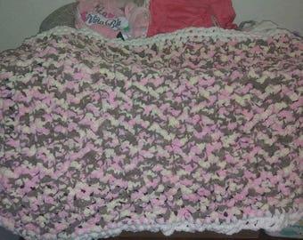 Baby soft crib blanket