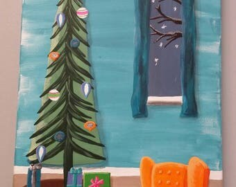 Mid Century Modern Dr. Seuss Style Christmas