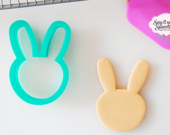 Bunny Rabbit Face Cookie Cutter