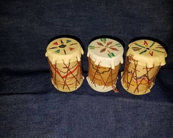 Miniature Indian Drums