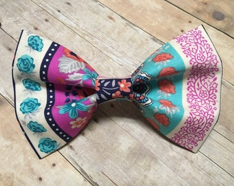 Tri-Bloom // Pet Bow Tie