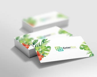 Watecolor Business Card