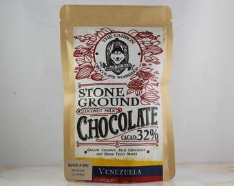 Organic Vegan Coconut Milk Chocolate