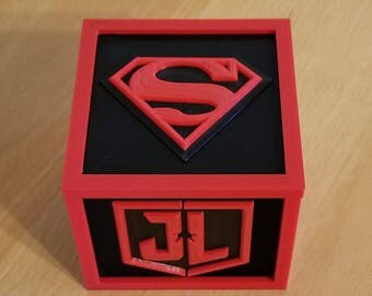 Superman Justice League Storage Box