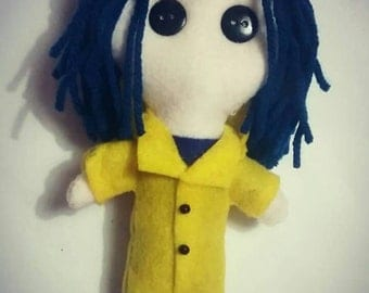 Coraline Inspired Doll
