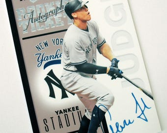Aaron Judge Custom 1998 Contenders Style Tribute Yankees RC Facsimile Auto Numbered Limited /30