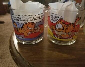 Garfield Mugs (2)
