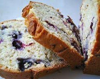 Valentine gifts/Homemade Blueberry Bread/Blueberry Bread/Edible Gifts/Gifts for her/Gifts for him/Baked Goods/Birthday Gifts/Gifts