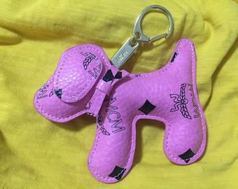 Dog MCM Key fob bag pendant for mcm bag porte-clés sur les clés du sac