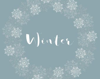 Winter print download