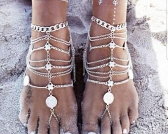 Tassel Ankle Bracelet