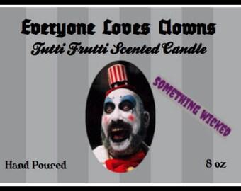 Captain Spaulding Horror Villain Inspired Candle