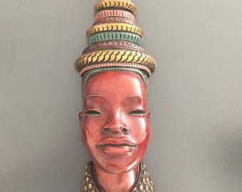 Statue woman face