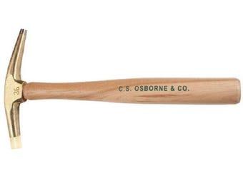 C.S. Osborne 6oz Nylon Tip Magnetic Hammer #36 Upholstery