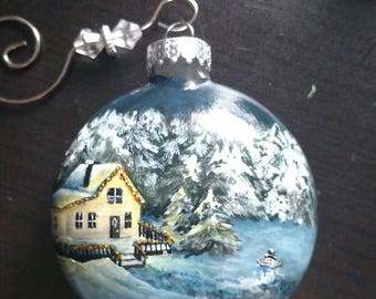 Hand-painted Christmas Ornaments