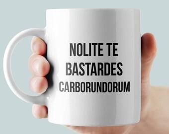 Nolite Te Bastardes Carborundorum Mug, Don't Let the bastardes grind you down Mug, The Handmaid's Tale Mug, The Handmaids Tale Fan Mug