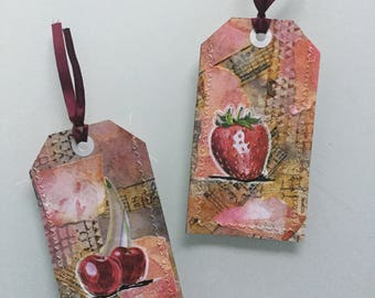 2 piece / / day - bookmark - gift tags