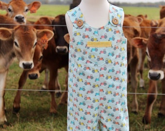 Farm boy tractor overalls