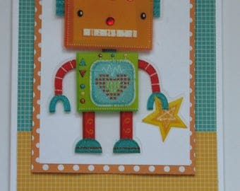 Sale - Out of Space Boy's Birthday Card