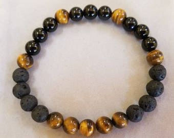 Men's Essential oil Diffuser Bracelet