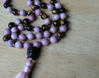 Love Yourself One of a kind Mala Necklace 108 beads
