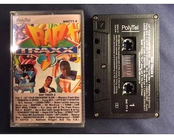 Rap Traxx 3 Cassette Tape From 1990 Hip Hop R&B
