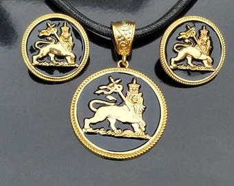 Lion of Judah Jewelry Set