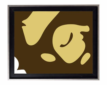 Bape Big Ape Head Poster or Art Print (a bathing ape)