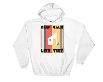 Keep Calm & Live Tiny Hooded Sweatshirt