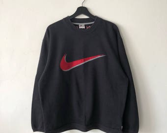 Vintage Nike Big Swoosh Logo sweatshirt Size L