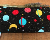 Space Lover Gift - Gift for Boy - Eye Pillow - Boo Boo Bag - Aromatherapy Pad - Lavender Ice Pack- Heating Pad - Stocking Stuffer - Present