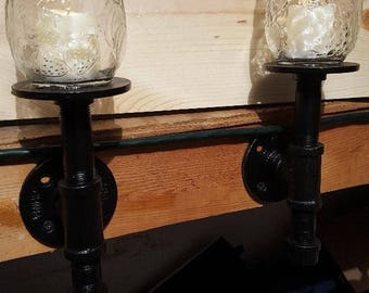 Pair of Wall Mount Sconces
