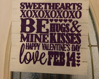 Valentine's Day sign