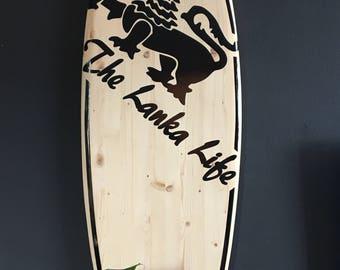 Lanka Life Deco Surfboard