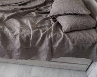 Linen Flat Sheet, Linen bed sheet,100% natural flax, Flat sheet King Queen Twin, Linen bedding, Organic flat sheet