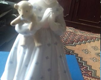 Royal wocester figurine for nspcc entitled I wish