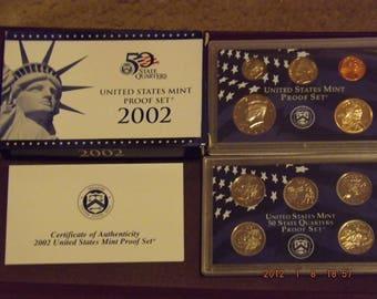 2002 U.S. Proof Set