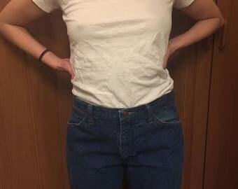 Ralph Lauren / T-Shirt / Minimal / White / Unisex / Medium