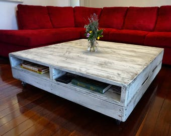 Upstyled pallet coffee table