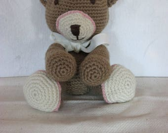 Brown bear made mana for adults and children