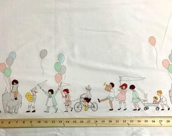 On Parade, Michael Miller, Sarah Jane, Cotton Fabric, Quilting, Childrens, Whimsical