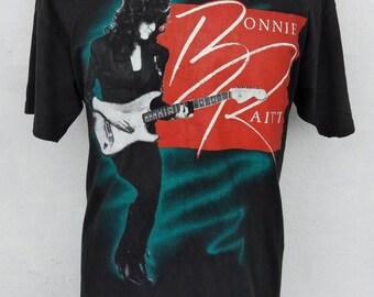 Vintage T-Shirt Bonnie Raitt North American Tour 1990s