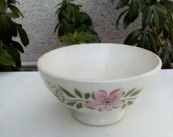 vintage porcelain coffee Bowl french bowl
