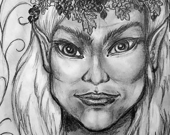 The Elvenking (with a spring crown)
