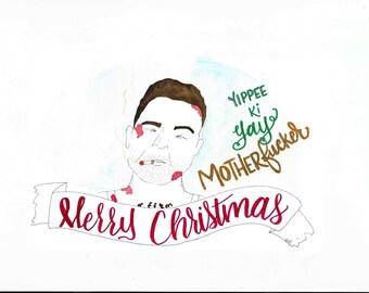 Die Hard Christmas Card