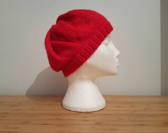 Red Sparkly Beret