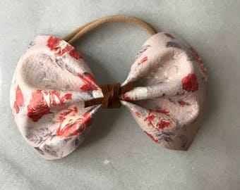 Red Taupe Floral