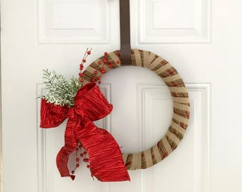 Festive Christmas Wreath