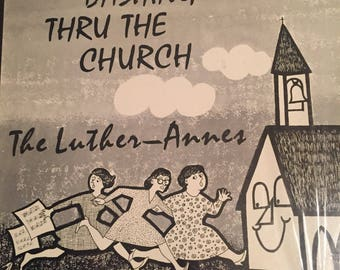 The Luther-Annes- Dashing Through The Church-1970- Vinyl Record Album
